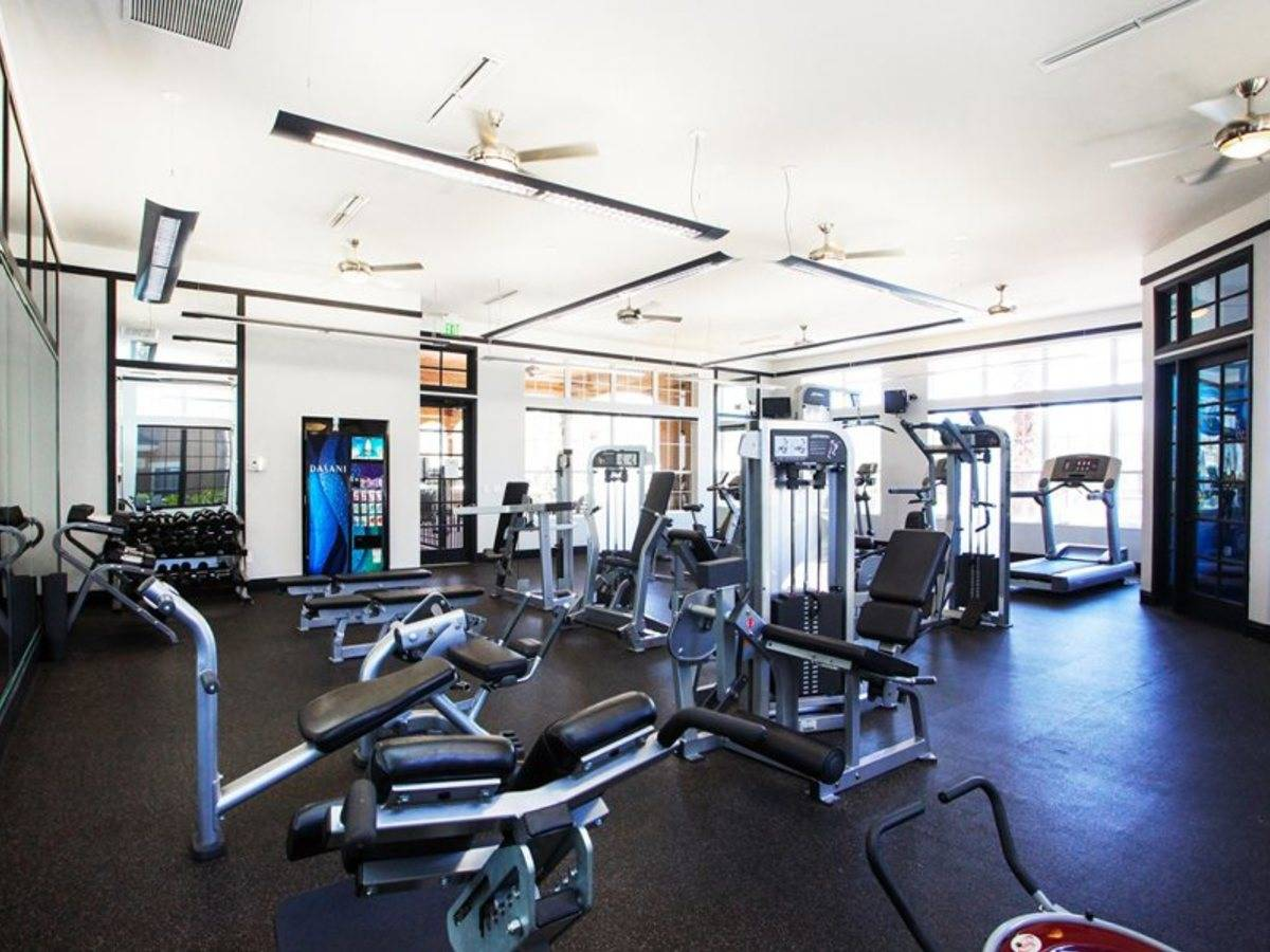 Computer original fitness center