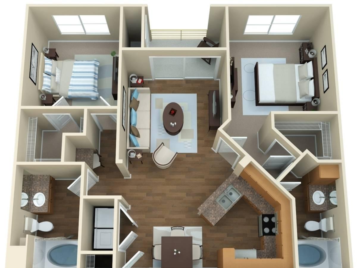 Computer original floor plan